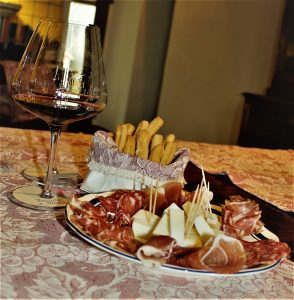 Cold cuts and cheese - Pienza and Montepulciano wine and food tour with De Gustibus Tours