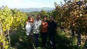 In a Chianti vineyard - De Gustibus Wine and Food Tours