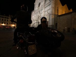 Florence at Sunset vintage sidecar tour with De Gustibus tours