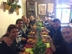 Truffle based lunch at Cucina Giuseppina - truffle hunting experience with de gustibus wine and food tours