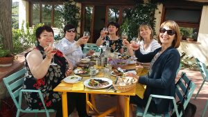 Lunch and wine tasting at Il Bacìo organic winery in Chianti - De Gustibus Wine and Food Tours