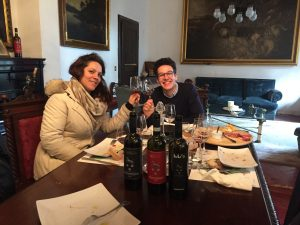 First guest of 2020 - Brunello Wine Experience